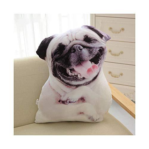 AYUNYUN Cute 3D Simulation Dog Plush Toy Shar Pei Stuffed Animal Plush Pillows Cartoon Puppies Cushion Home Decro