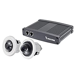 Vivotek Vc8201-M33 Split IP Camera System, 5 Megapixel Fisheye Camera