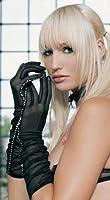 Long Sheer Women's Costume Gloves