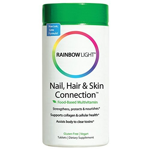 Rainbow Light, Herbal Prescriptives, Nail, Hair & Skin Connection, Replenish & Balance, 60 Tablets by Rainbow Light ()