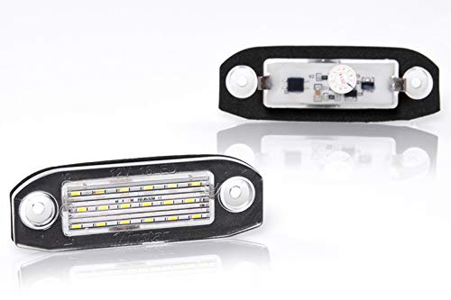 V-032501 LED Number Plate Light License Plate with Registration Canbus Plug /& Play