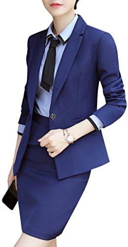 [해외]여성 의류 정장 세트 스커트 한 벌 정장 한 벌 위아래 설치 슈트 긴 팔 2 점 세트 사업 복장 OL 출근 복장 유행 결혼식 한 벌 졸업식 정장 세트 큰 사이즈 / Women`s Clothing Suit Set Skirt Suit Formal Suit Up and Down Set Suit Long Sleeve 2 ...
