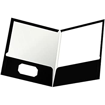 Amazon Com Oxford Laminated Twin Pocket Folders Letter