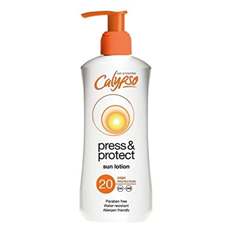 Calypso Press and Protect Sun Lotion, SPF15, 200ml CYCAL15200