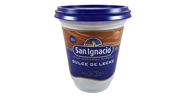 Amazon.com : SAN IGNACIO Dulce de Leche 400 gr. / Milk Caramel 14.11 oz. : Grocery & Gourmet Food