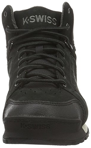 K-Swiss Men's Norfolk Low-Top Sneakers Black (Black/Beluga) oHLqhv9FX6