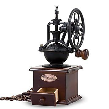 klxeb molinillo de granos de café molinillo manual de pequeño hogar polvo se puede lavar a máquina de café máquina de café: Amazon.es: Hogar