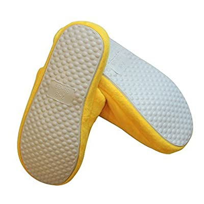 Emoji Slippers - Plush, Warm, Non-Skid, Unisex, Bonus Emoji Pen Great Gift (5-6, Cool Sunglasses) | Slippers