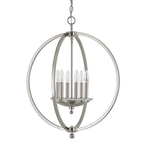 Capital Lighting 4866PN Four Light Pendant - Capital Lighting Four