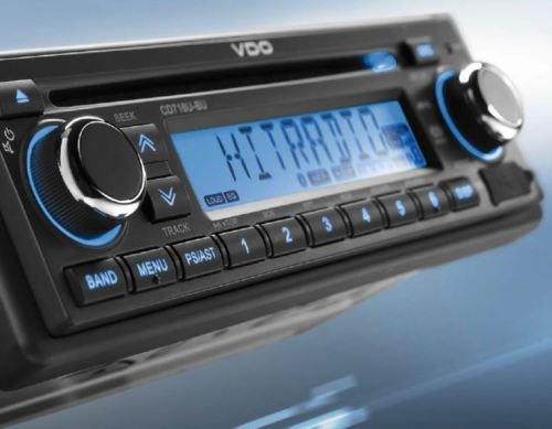 tuner RDS voiture VDO 12/V Radio Bluetooth avec mains libres voiture WMA MP3 CD 12/V 2910000080700 USB