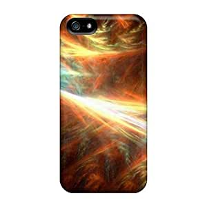 Iphone 5/5s Case Cover - Slim Fit Tpu Protector Shock Absorbent Case (3d Image)