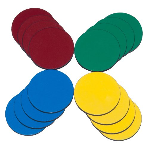 - Magnum Magnetics-Corporation ProMAG 1-Inch Diameter Flexible Magnets in Assorted Colors (AFG-20000)