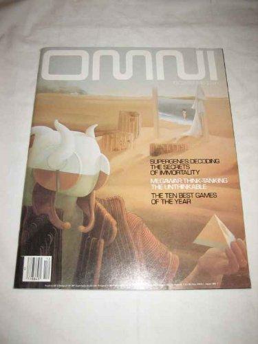 Omni Magazine December 1980 Supergenes, Megawar, Ten Best Games