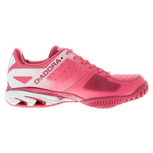 AG S Star Women`s 17014 K IV Paradise Tennis White Shoes Super Diadora and Pink dwxXnWqx