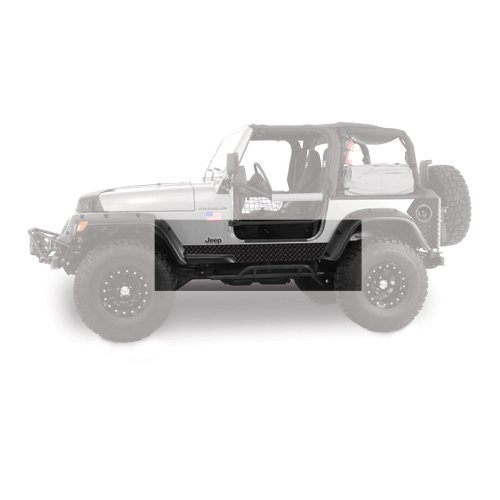 Warrior Products Powder Coated Jeep Wrangler YJ Side Plates without Cutouts