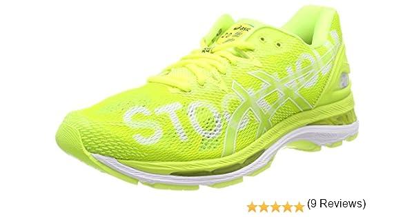 Asics Gel-Nimbus 20 Stockholm Marathon, Zapatillas de Running para Mujer, Amarillo (Safety Yellow/Safety Yellow/White 0707), 37 EU: Amazon.es: Zapatos y complementos