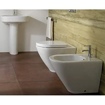 Ceramica Globo Concept.Sanitari Filo Parete Ceramica Globo Concept 57 Wc Bidet