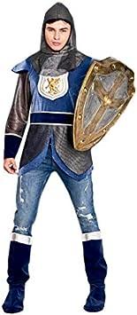 Disfraz Caballero Medieval León Azul Hombre (Talla M) (+ Tallas ...