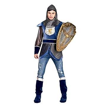 Disfraz Caballero Medieval León Azul Hombre (Talla M) (+ ...