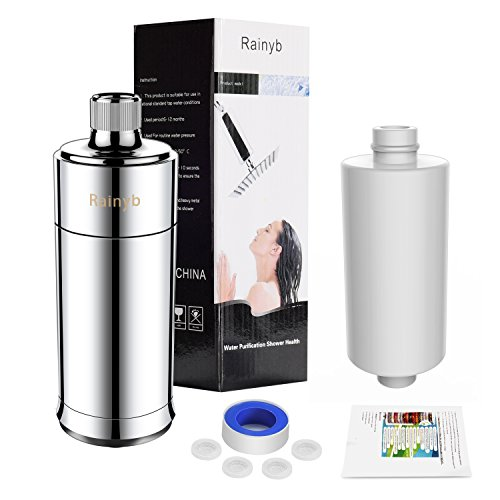 Filtering System (Shower Filter 15-stage Shower Water Filter For Hard Water,Water Purifier | Water Softener To Removes Chlorine, Fluoride, Rust Metal To Boosts Skin/ Hair Health - Rainyb)