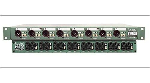 Radial ProD8 8-Channel Passive Instrument Direct Box