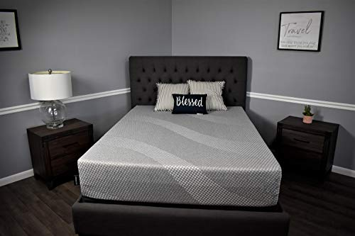 American Mattress Company IGEN Hybrid-Cooling Fabric-Cooling Graphite Gel-100 Made in The USA Queen