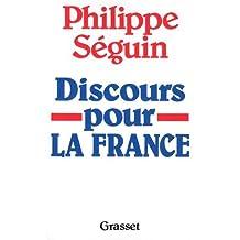 DISCOURS POUR LA FRANCE