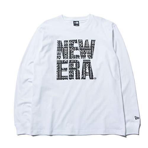 (ニューエラ) NEW ERA Tシャツ 長袖 5 BOROUGHS BIG ホワイト M