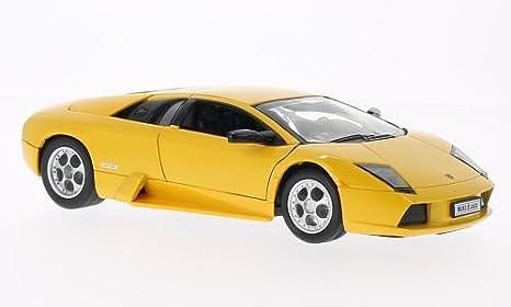 Amazon Com Lamborghini Murcielago Yellow 0 Model Car Welly 1