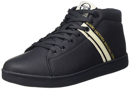 Sergio Tacchini Shoji Mid, Sneaker a Collo Alto Uomo Blu (Navy)