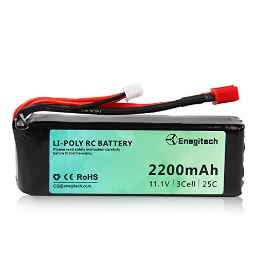 Batteriol 3S Lipo Battery RC Battery 11.1V 25C 2200mAh with Deans-T Plug...