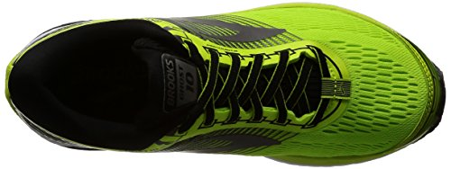 Brooks Ghost 10, Scarpe da Running Uomo Giallo (Lime Popsicle/Black/Metallic Charcoal)