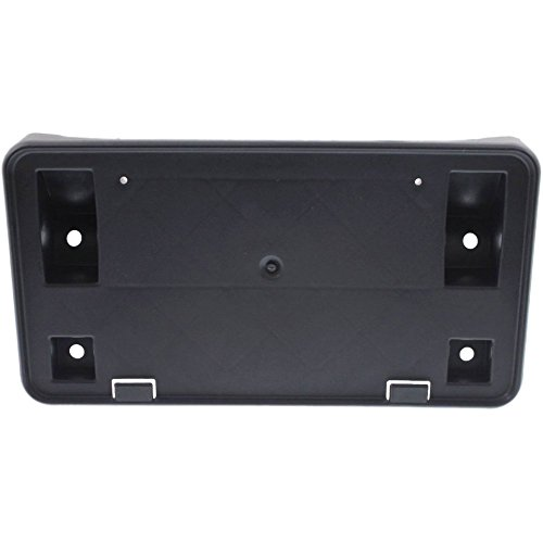 Honda Bracket - License Plate Bracket for Honda Civic 09-11 Front Textured (Black) Sedan