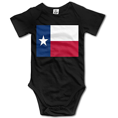 (ONE SUIT Flag Of Texas Funny Baby Onesies Infant Clothes Boys Girls Bodysuit Jumpsuit Rompers Baby Outfits)
