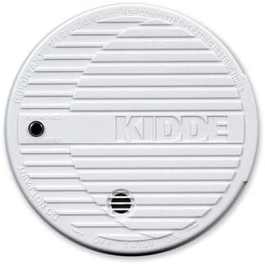 Kidde Fire and Safety Products – Smoke Alarm, Flashing LED, 9V Battery Included, White – Sold as 1 EA – Smoke alarm is easy to install. No wiring required. Features a quality design with flashing LED, test button and low-battery indicator. Battery operated 9V battery included .