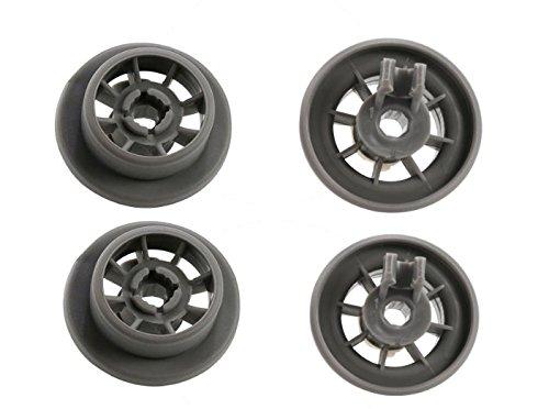Pack de 4 ruedas para cesta inferior de lavavajillas para Bosch ...