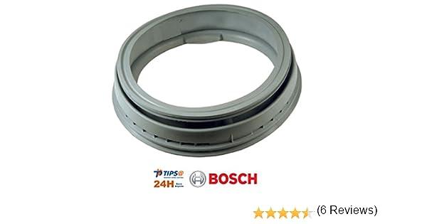 REMLE Goma puerta lavadora, Fuelle embocadura compatible BOSCH ...