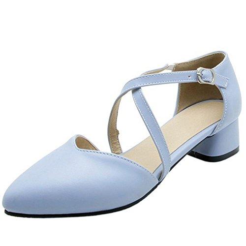 Zanpa D Orsay Sandals Femmes Moyen Doux Blue Talon rqwaUrT