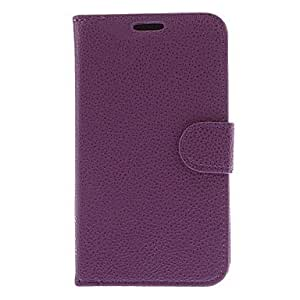 Lichee Pattern PU Leather Full Body Case for Samsung Galaxy Grand Duos I9082(Assorted Colors) --- COLOR:Red