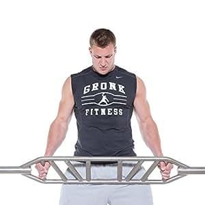 Gronk Fitness Swiss Bar - Commercial Grade