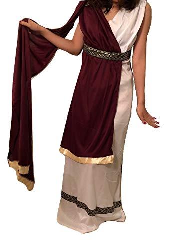 Women's Roman Goddess Costume - Princess, Queen, Empress, Small Size -