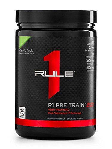 R1 Pre Train 2.0, Rule 1 Proteins (25 servings, Candy Apple)