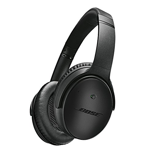 Bose QuietComfort 25 Acoustic Noise Cancelling Headphones for Apple Devices, Triple Black (wired, 3.5mm) -  Bose Corporation, 715053-0030