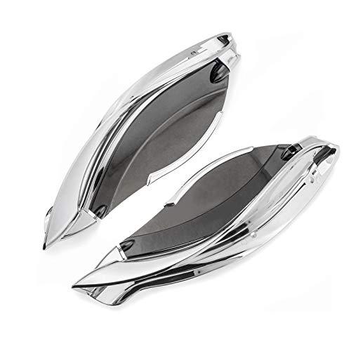 Seitlicher Windabweiser f/ür Harley CVO Street Glide 14-19 Lux Chrom