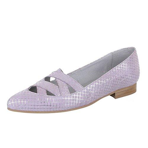 Ital-Design - Zapatos de Tacón Mujer Morado - morado