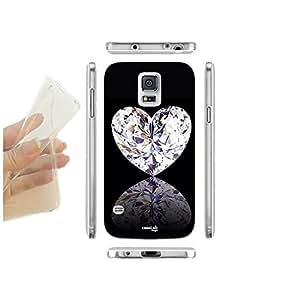FUNDA CARCASA SLIM DIAMOND HERZ PARA SAMSUNG GALAXY S5 PLUS G901F TPU
