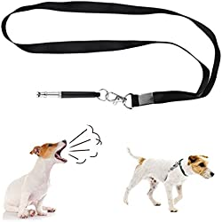 limmyun Dog Training Whistle Ultrasonic Professional Dog Whistles with Lanyard Durable Training Tool for Bulldog Schnauzers Labrador Poodle Chihuahua