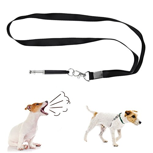 - limmyun Dog Training Whistle Ultrasonic Professional Dog Whistles with Lanyard Durable Training Tool for Bulldog Schnauzers Labrador Poodle Chihuahua
