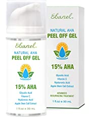 Chemical Peel for Acne Scars and Dark Marks, Wrinkles, Fine Lines, Pigmentation - AHA Facial Peel with Glycolic Acid, Lactic Acid, TCA - Rejuvenating Deep Acid Peel with Hyaluronic Acid, Vitamin C