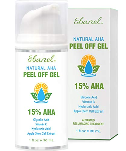 Chemical Peel for Acne Scars and Dark Marks, Wrinkles, Fine Lines, Pigmentation - AHA Facial Peel with Glycolic Acid, Lactic Acid, TCA - Rejuvenating Deep Acid Peel with Hyaluronic Acid, Vitamin C (Products That Contain Lactic Acid For Skin)